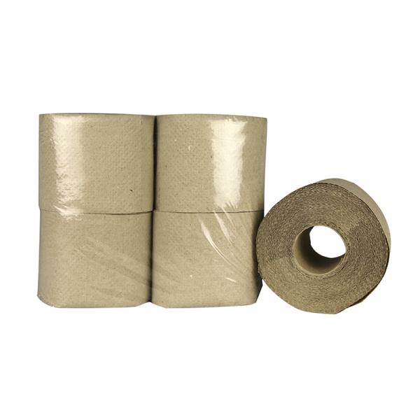 Toiletpapier ongebleekt 1 laag 400 vel