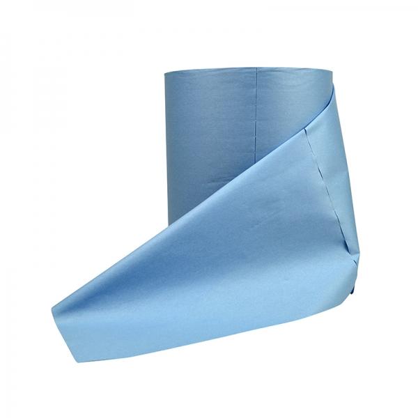 Supertex donkerblauw 38 x 29 cm 500 vel op rol 2 rollen in verpakking