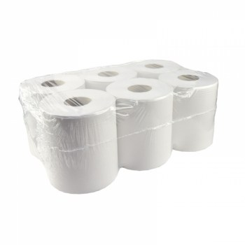 handdoekrollen Midi Centerfeed recycled tissue 1 laags